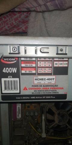 Vendo fonte 400 wats