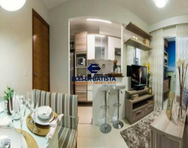 DWC - Apartamento Veredas Buritis 2 Quartos c/ suite Colinas de Laranjeiras - ES - Foto 18
