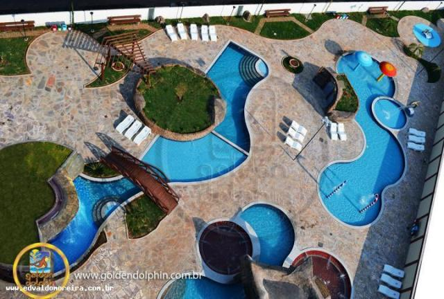 Apartamento 3 quartos para temporada em caldas novas, golden dolphin supreme, 3 dormitório