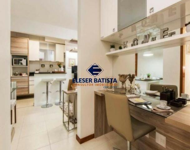 DWC - Apartamento Veredas Buritis 2 Quartos c/ suite Colinas de Laranjeiras - ES - Foto 13