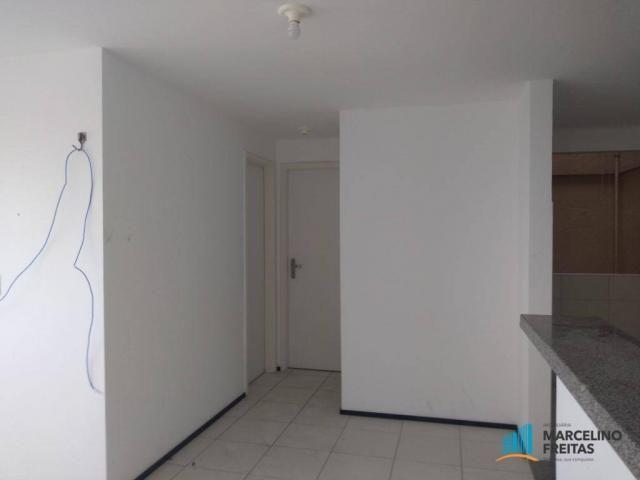 Apartamento com 2 dormitórios para alugar, 52 m² por r$ 1.109/mês - álvaro weyne - fortale - Foto 12