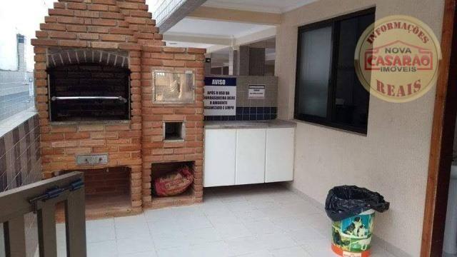 Apartamento com 2 dormitórios à venda, 89 m² por R$ 285.000 - Vila Tupi - Praia Grande/SP - Foto 16