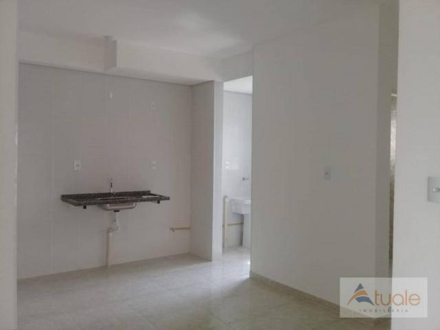 Apartamento com 2 dormitórios à venda, 59 m² - jardim santa rita i - nova odessa/sp - Foto 4