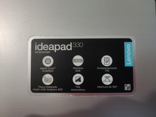 Notebook Lenovo Ideapad 330 Intel Core i5-8250U - 8GB 1TB 15,6 Windows 10 - Foto 6