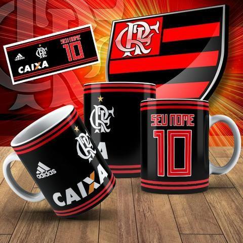 Canecas do Flamengo com Seu nome! - Foto 3
