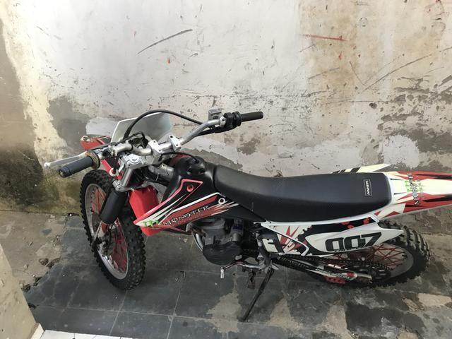 Crf 230 a moto mais nova dá Bahia