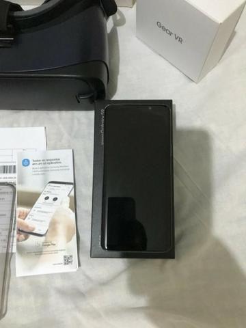 Samsung galaxy S9 + oculos gear vr tudo na caixa com nota fiscal + garantia - Foto 2