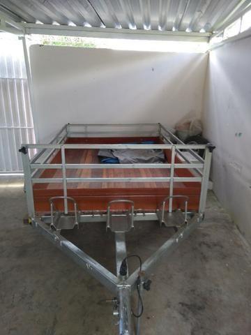 Carreta Reboque 33T 2,5 x 1,60mts - Foto 2