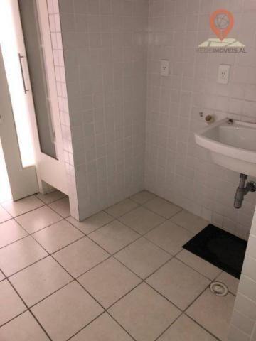 Apartamento com 1 dormitório à venda, 54 m² por R$ 220.000,00 - Jatiúca - Maceió/AL - Foto 10
