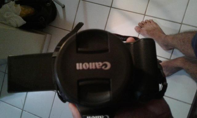 Canon Sl Rebel com flimadora
