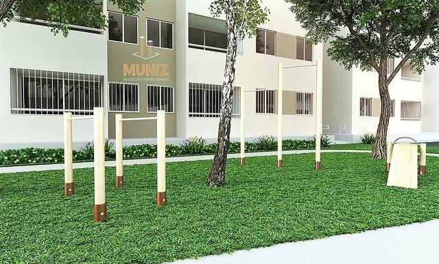 RS Apartamento, Candeias, Jaboatão, 2 quartos com Suíte, Varanda, Entrada Facilitada - Foto 2