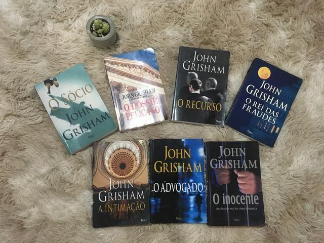 Coleção John Grisham - 7 volumes - Foto 2