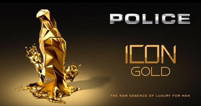Perfume Police Icon Gold (125ml) - Masculino  Original e lacrado ... a4f598ef39