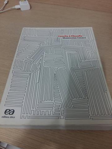 Livro Convite A Filosofia Marilena Chaui Livros E Revistas
