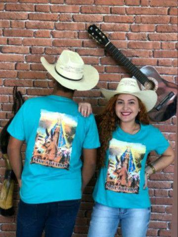 Camisetas masculina e femininas - Foto 3