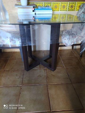 Vendo mesa incluindo 4 cadeiras superconservadas - Foto 2