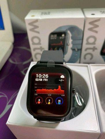 Smartwatch P8 relógio inteligente novo  - Foto 2