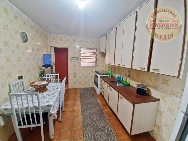 Apartamento com 3 dormitórios à venda, 115 m² por R$ 320.000 - Tupi - Praia Grande/SP - Foto 8