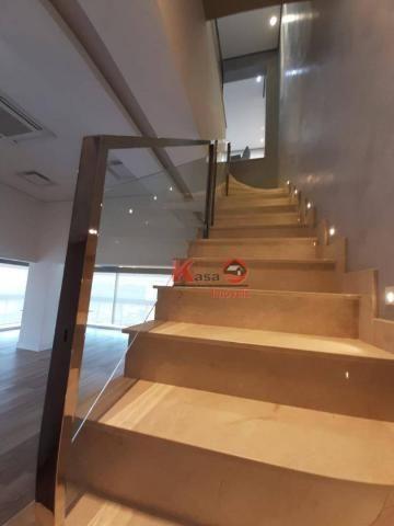 Cobertura com 4 dormitórios à venda, 410 m² por R$ 7.500.000,00 - Gonzaga - Santos/SP - Foto 16