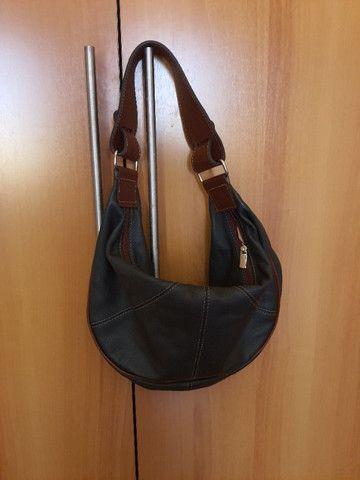 Bolsa de mão forrada - Nobuck