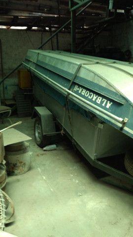 Barco borda alta + carretinha + cozinha completa  - Foto 4