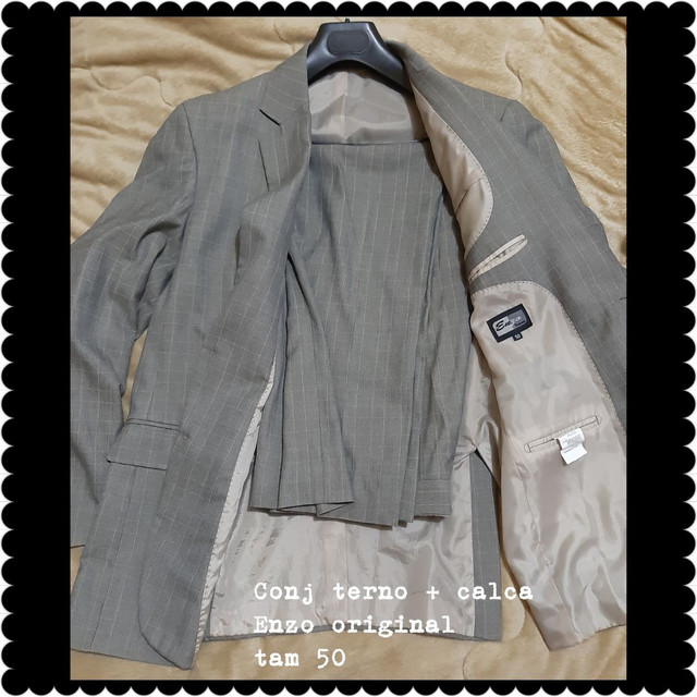 Conjunto de terno e blazer com calça  - Foto 2
