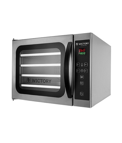 Mini forno turbo com vapor 4 esteiras *douglas