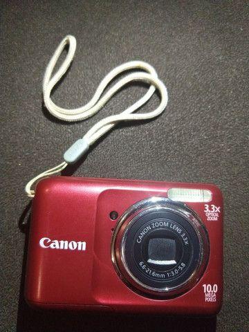Câmera Canon PowerShot A800 ótimo estado