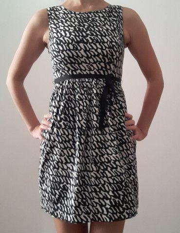 Vestido Zara XS (tam 36)com forro e cinto - Foto 2