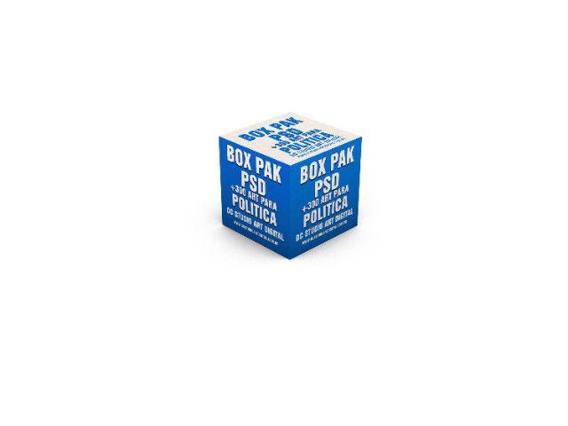 Box Pak PSD Politica R$25,00 Reias