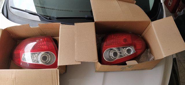 Lanternas traseiras (par) ford ka 2008-2013 Originais - Foto 2