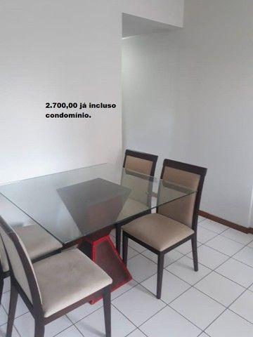 Apartamento com 2 quartos sendo 1 no Aleixo 100% mobiliado.,,;,//- - Foto 9