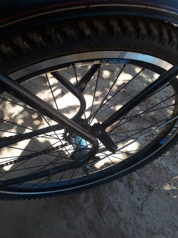 Verde se uma bicicleta  monak - Foto 4
