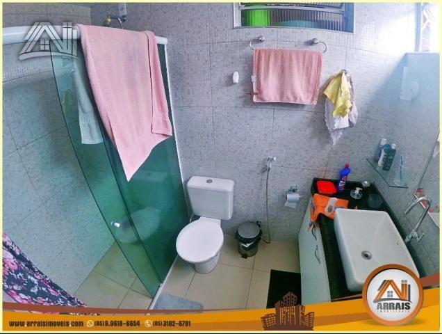 Apartamento à venda, 117 m² por R$ 370.000,00 - Vila União - Fortaleza/CE - Foto 14