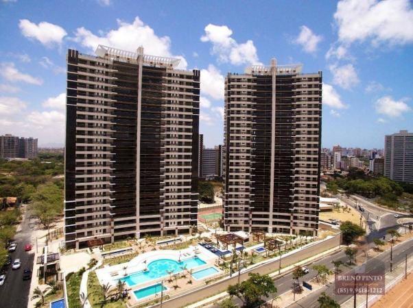 Apartamento no Cosmopolitan com 4 dormitórios à venda, 259 m² por R$ 2.650.000 - Guararape