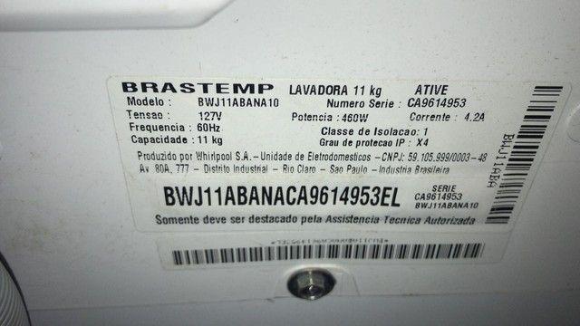 Maquina de lavar 11kg Brastemp - Foto 4