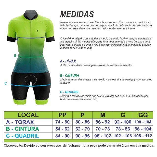 Macaquinho Ciclismo Feminino - Foto 5