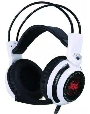 Headset Gamer 7.1 Pc Led Com Microfone Kp-400 - Loja Natan Abreu