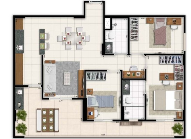 Taguá Life -3 quartos-financie com a construtora-itbi gratuito - Foto 2