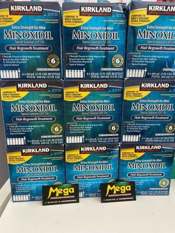Minoxidil Kirkland 5% original importado R$ 60,00 EUA ENTREGA GRÁTIS