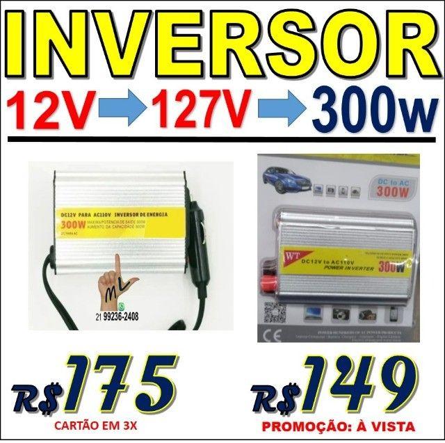 Inversor Conversor de Energia, voltagem 12 ou 24V para 127V ou 220V Várias potências - Foto 2