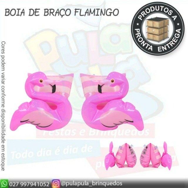 Boias Infantis de braço (Unicórnio e Flamingo) - A pronta entrega - Foto 2