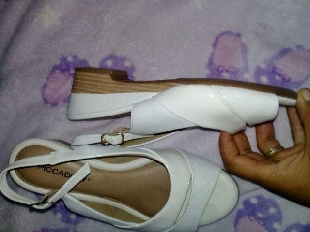 Sapatos branco n.35/36 - Foto 5
