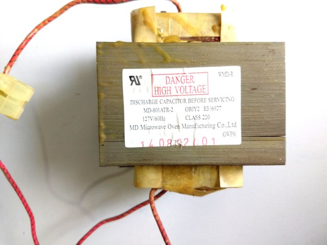Transformador micro-ondas Panasonic Piccolo NM-ST354WRUN  - Foto 3