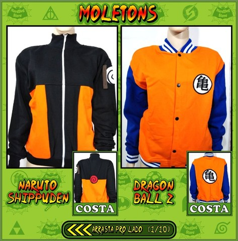 Moletons NerdDog Store - Naruto, Dragonball, Shingeki, Pokemon, Harry Potter, BTS