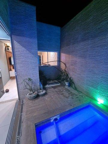 Linda Casa 3/4 ampliada com piscina condomínio Rubi - Foto 12