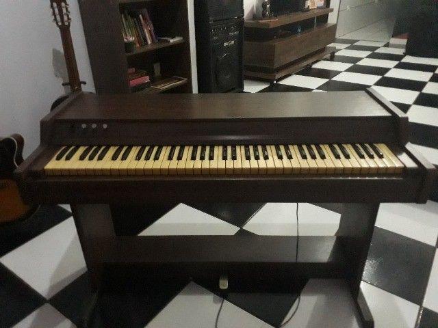 Piano Eletrônico Palmer - relíquia anos 80 - Foto 3