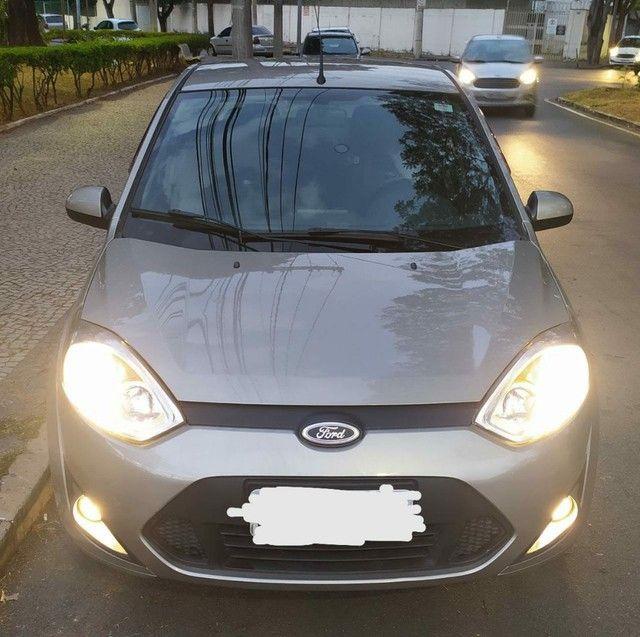 Oportunidade, R$ 2500 abaixo da tabela para vender rápido,  Fiesta sedan 1.6 Flex completo - Foto 4