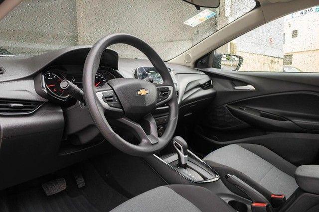 Chevrolet onix hatch at turbo 1.0 2021 *IPVA 2021* - Foto 7