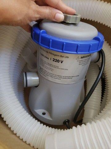 Bomba de filtragem para piscina - Foto 2